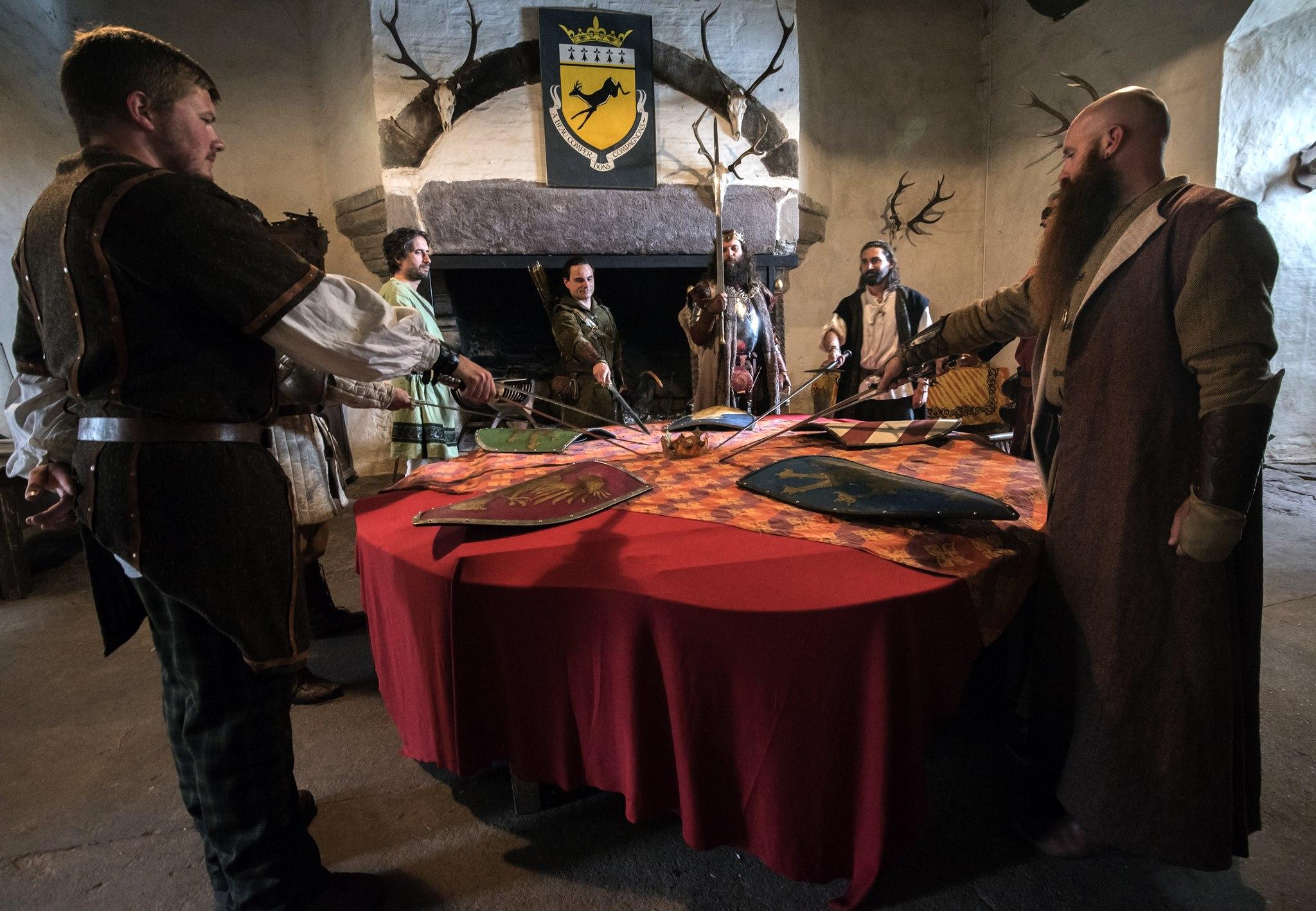 Devenir chevalier broc liande - Blason chevalier table ronde ...