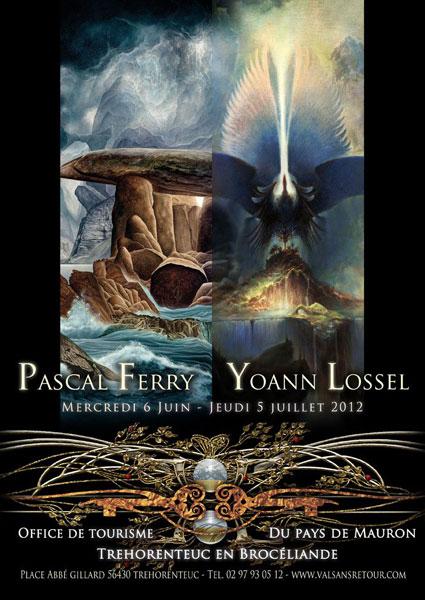 Pascal ferry et yoann lossel la crois e des mondes broc liande - Office tourisme trehorenteuc ...