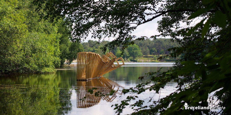Etangs d 39 art biennale d art dans la nature broc liande for Biennale artisanat d art